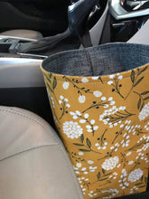Load image into Gallery viewer, Floral Car Trash Bag