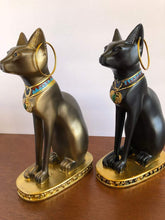 Load image into Gallery viewer, Ancient Egypt Kitty Egyptian Bastet Sculpture Cat Goddess Statue Collectible