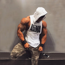 Load image into Gallery viewer, 2020 New Men Gyms Fitness Hooded Vest Sleeveless Sport Tank Top Workout Running Vest men
