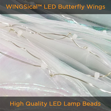 Load image into Gallery viewer, Rainbow Wings - LED Butterfly Costume