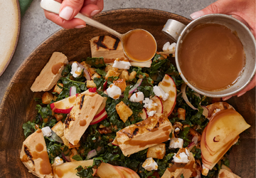 Honeycrisp Apple & Kale salad