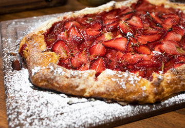 Plant-Based Strawberry Galette and Blitz Puff Pastry