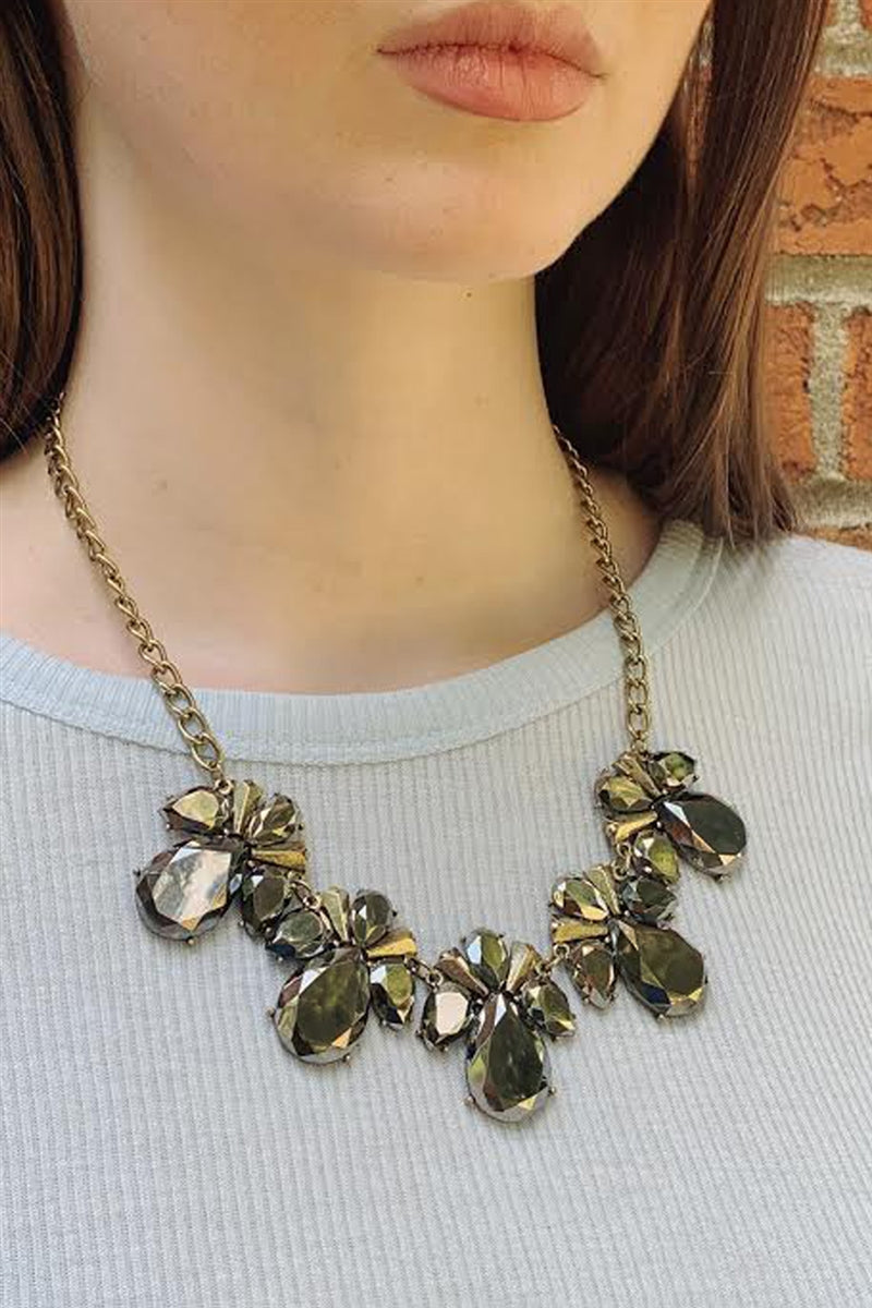 Reflections Statement Necklace