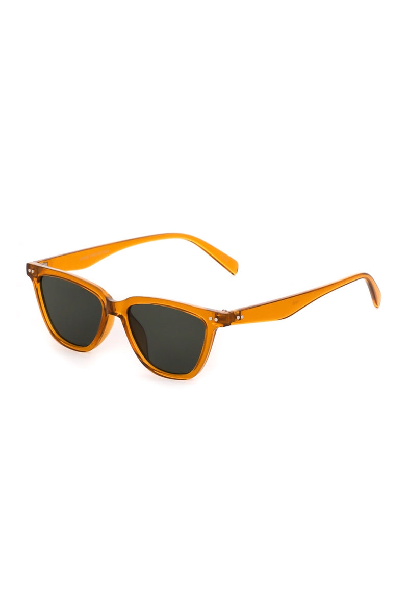 Hot In Here Mustard Yellow Wayfarer Sunglasses