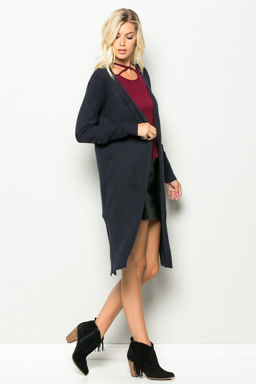 Fade Into You Star Long Cardigan
