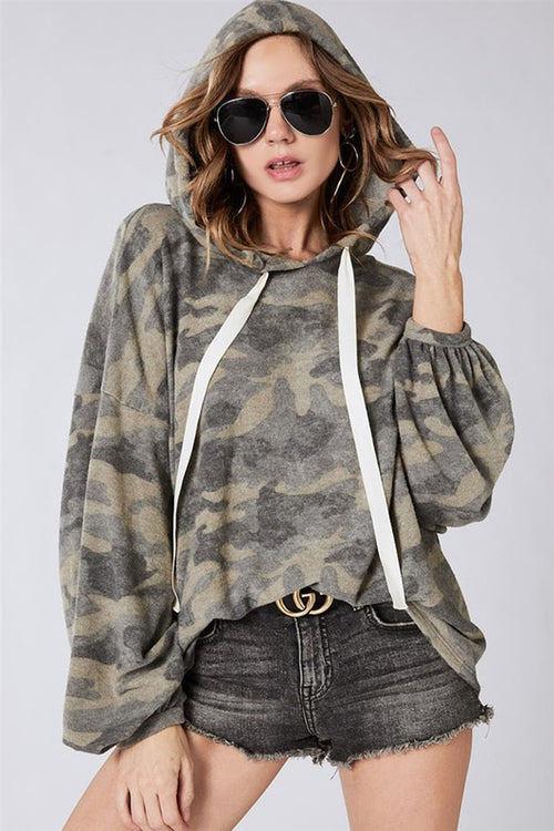 Rank & Style Camouflage Hoodie