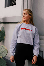 Moody Cropped Sweatshirt