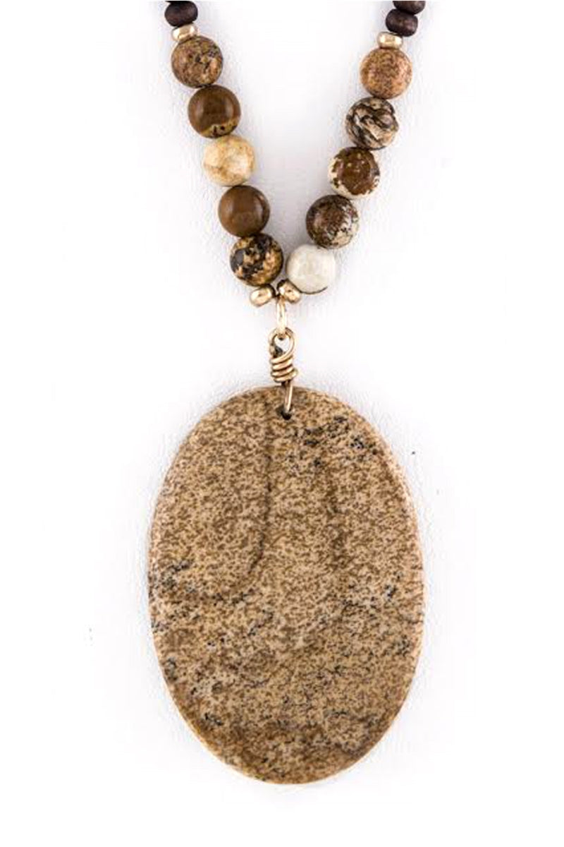 Come Naturally Pendant Necklace
