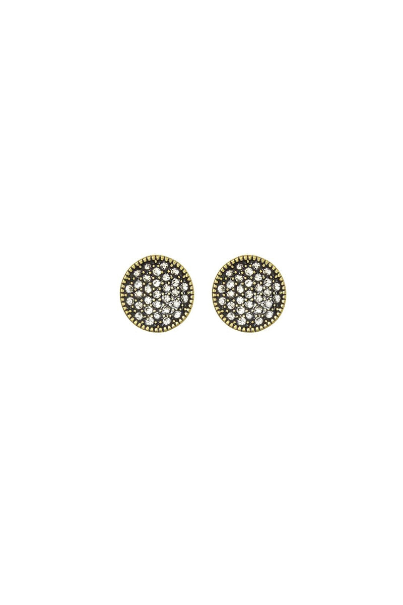 Life Of The Party Pave Crystal Stud Earrings