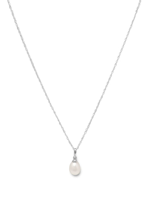 It's A Pearl Thing Pendant Necklace