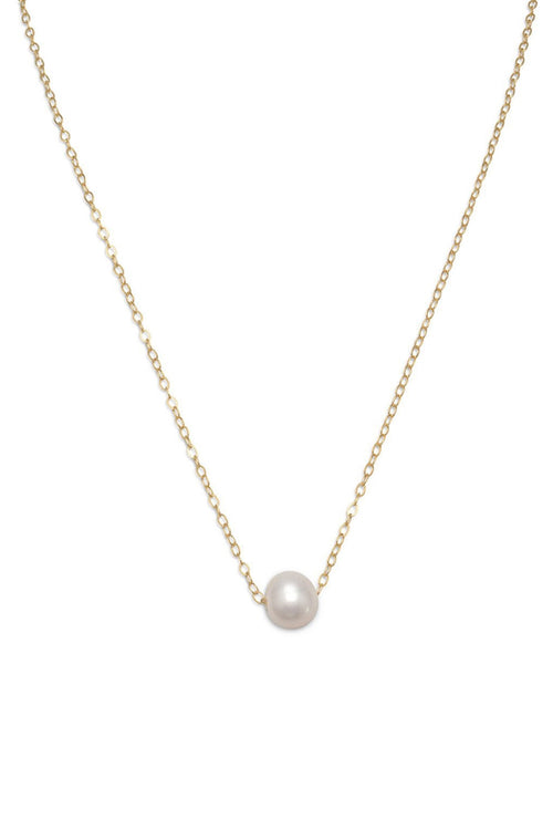 Float On Pearl Necklace