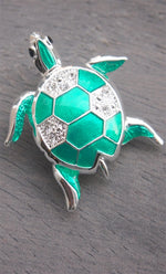 Turtle Time Brooch