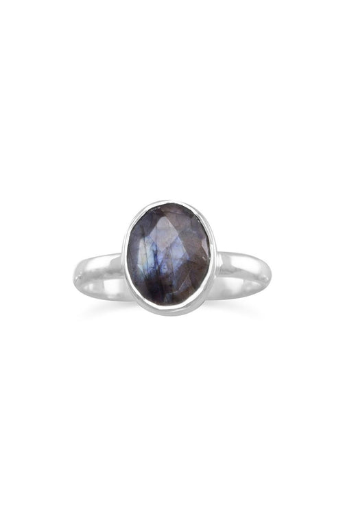 Solid As A Rock Labradorite Ring