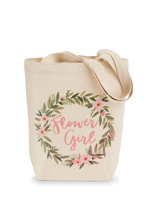Mudpie Flower Girl Tote Bag