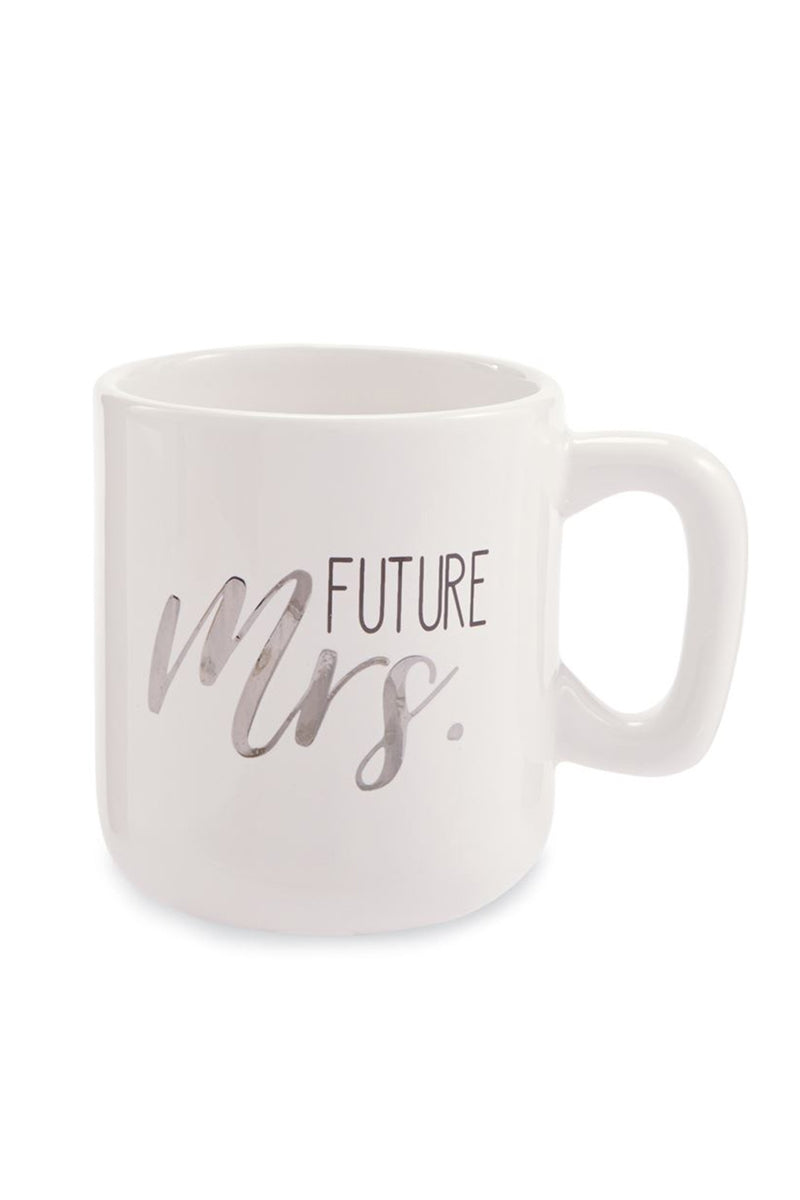 Mudpie Future Mrs Silver Foil Headband