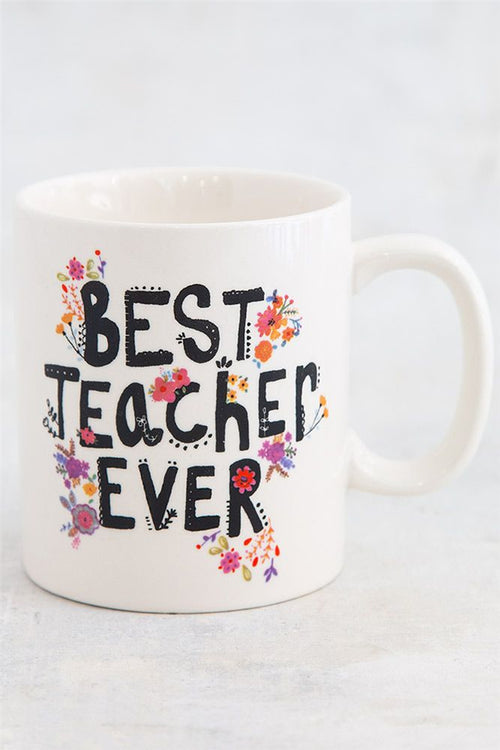 Natural Life Best Teacher Ever Mug