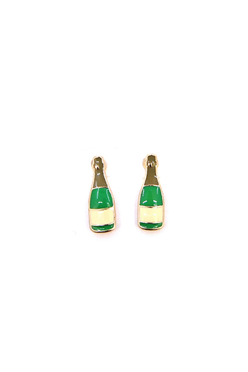 Champagne Stud Earrings