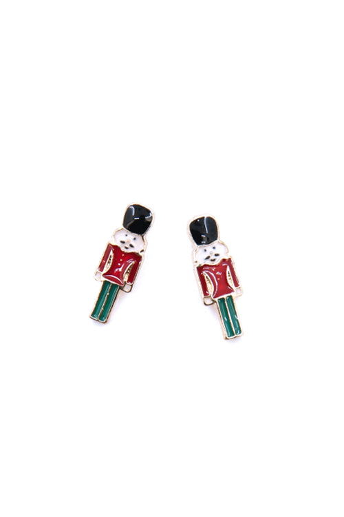Nutcracker Stud Earrings