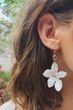 Pick A Good One Floral Statement Earrings