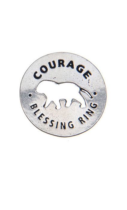 Blessing Ring Charm - Courage