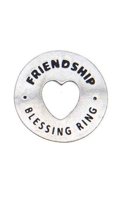 Blessing Ring Charm - Friendship
