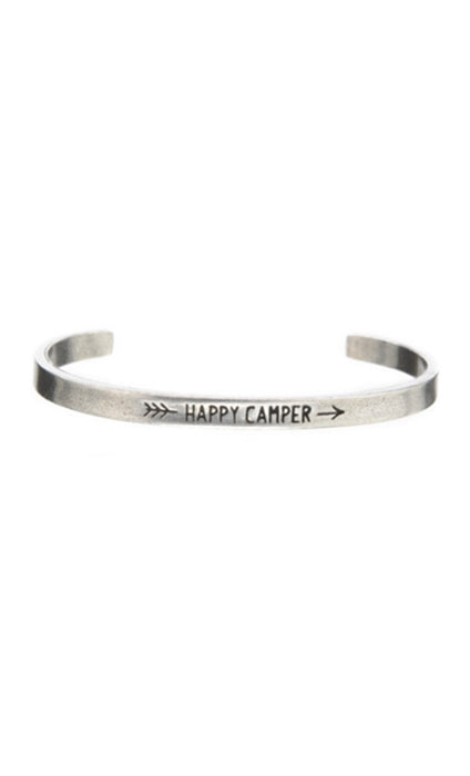Whitney Howard Designs Happy Camper Quotable Cuff Bracelet
