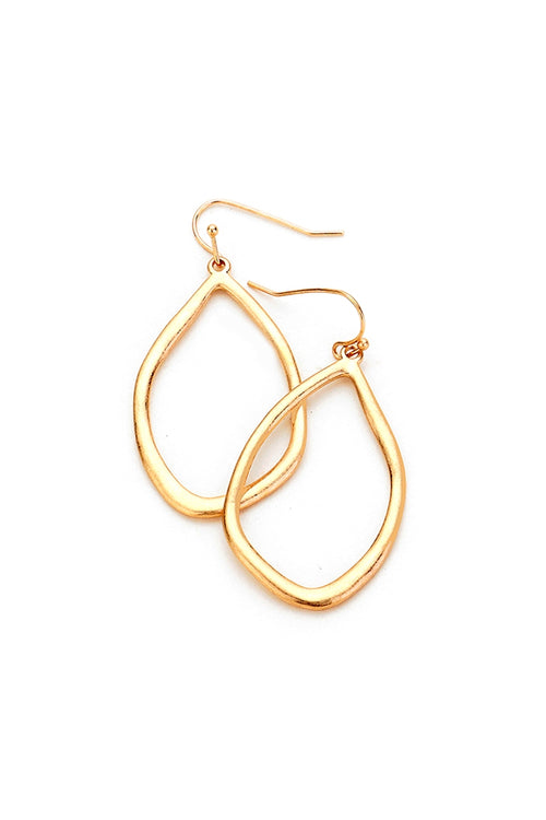 Under The Hammer Teardrop Earrings