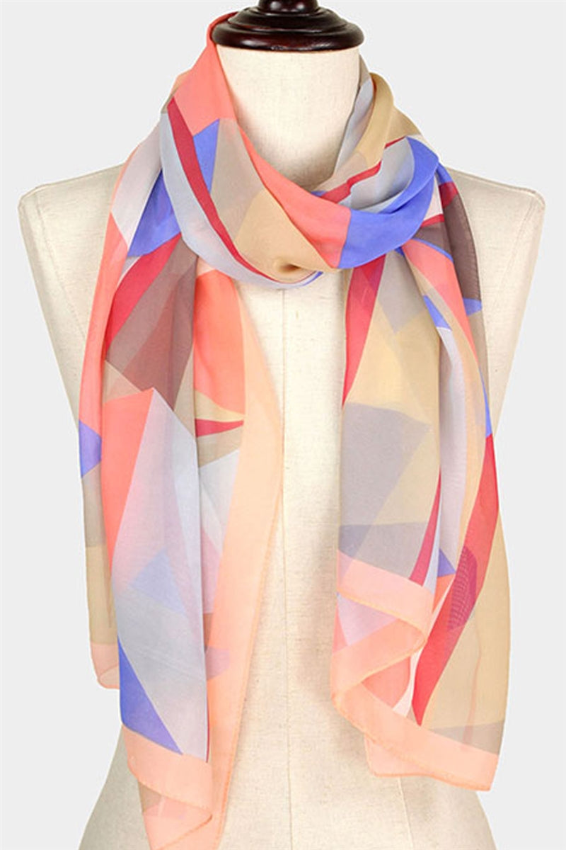 Abstract Thinking Scarf
