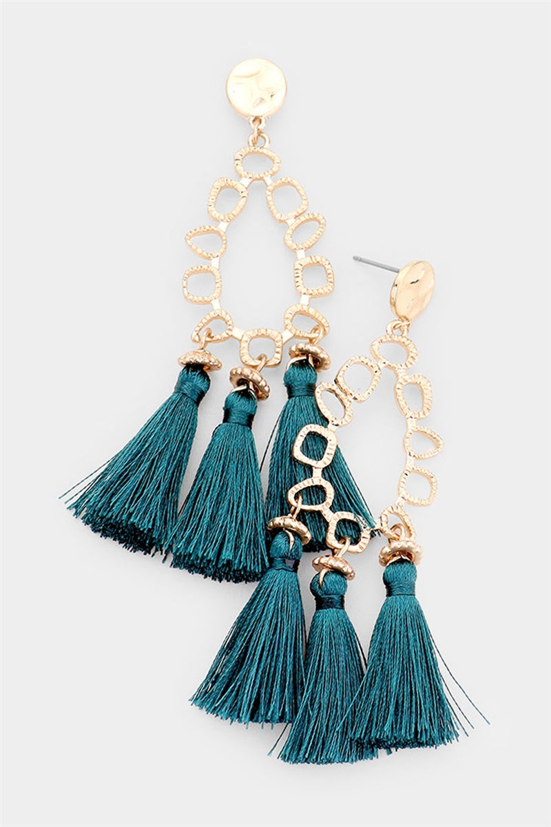 Lead The Sway Tassel Earrings