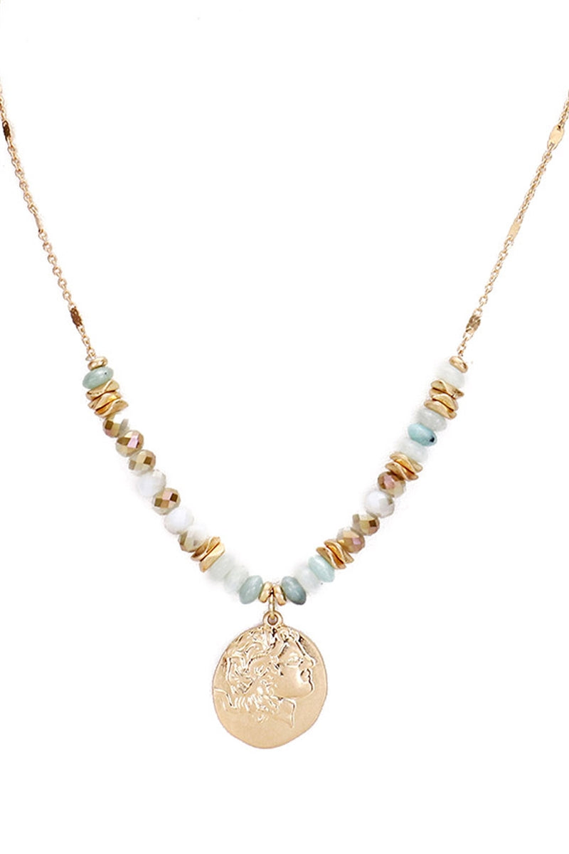 Cash In Coin Pendant Necklace