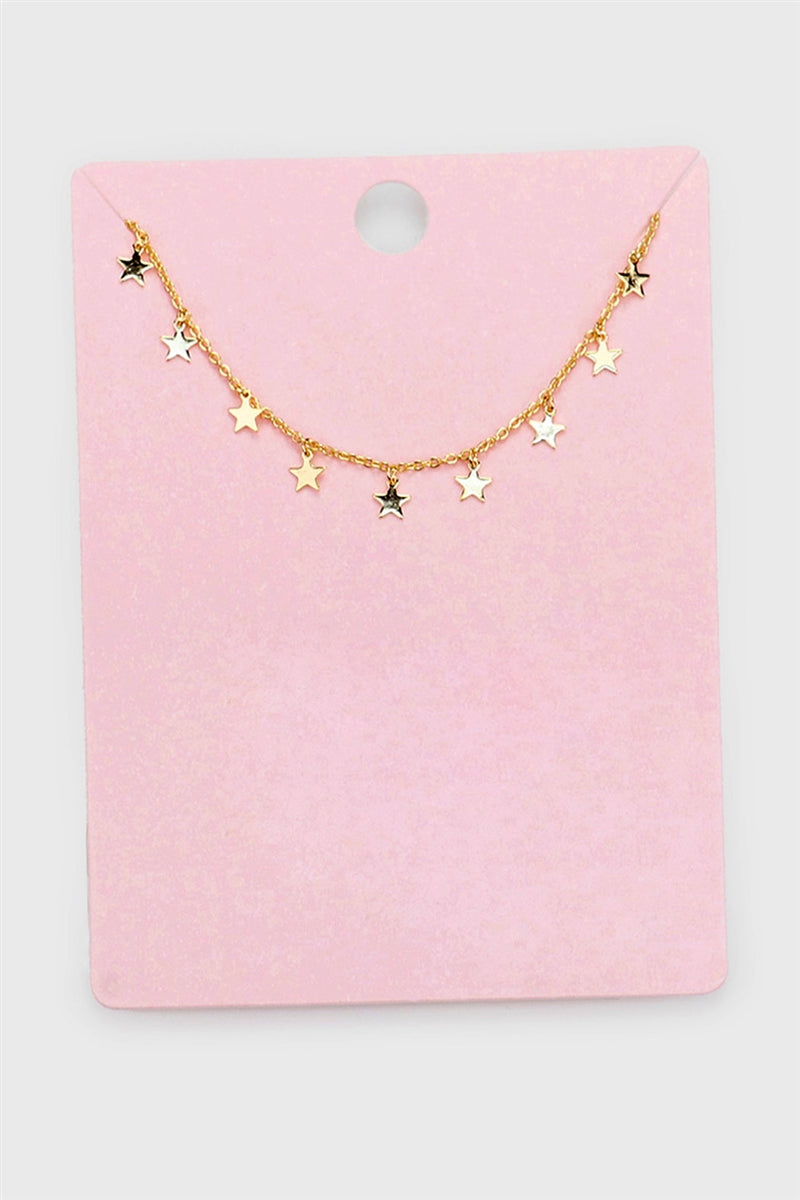 All Of The Stars Dainty Collar Necklace
