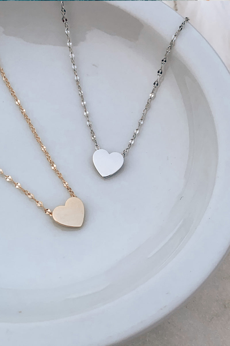 Loved Up Heart Pendant Necklace