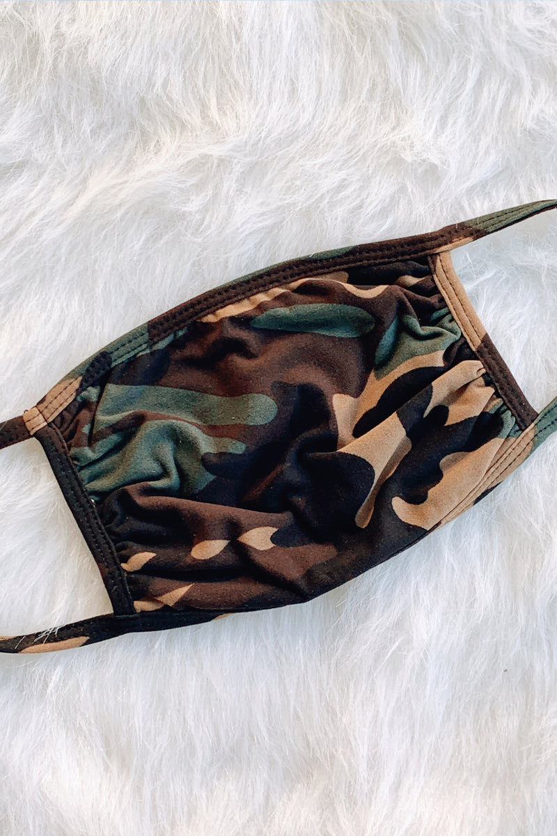 Undercover Camouflage Face Mask
