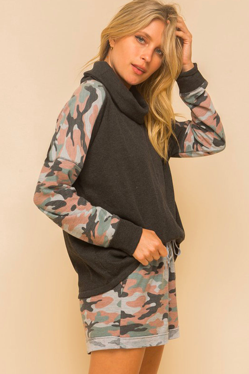 Armed & Ready Camouflage Turtleneck
