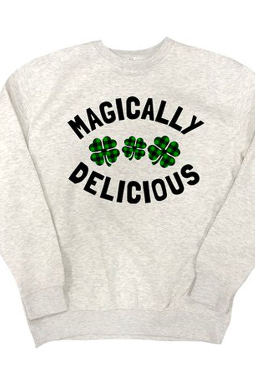 Magically Delicious Shamrock Sweatshirt