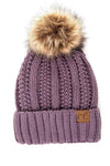 CC Fleece Lined Pom Beanie