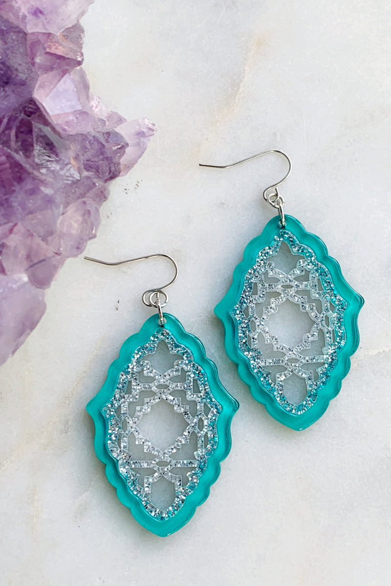 Moroccan Lattice Earrings