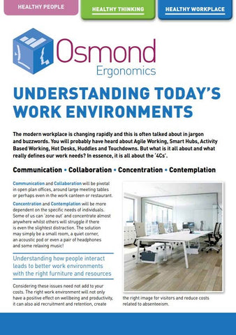 Understanding the Work Environments
