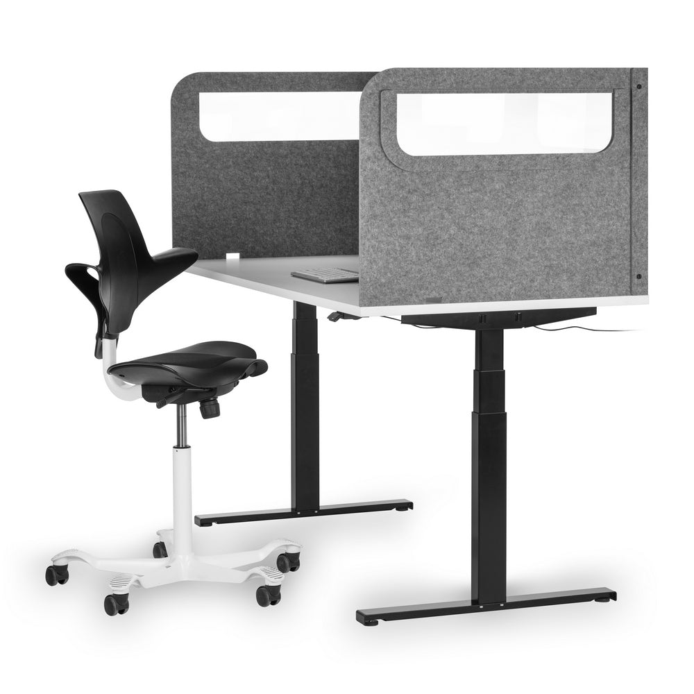 100% Recycled Desk-mounted Protection Screen