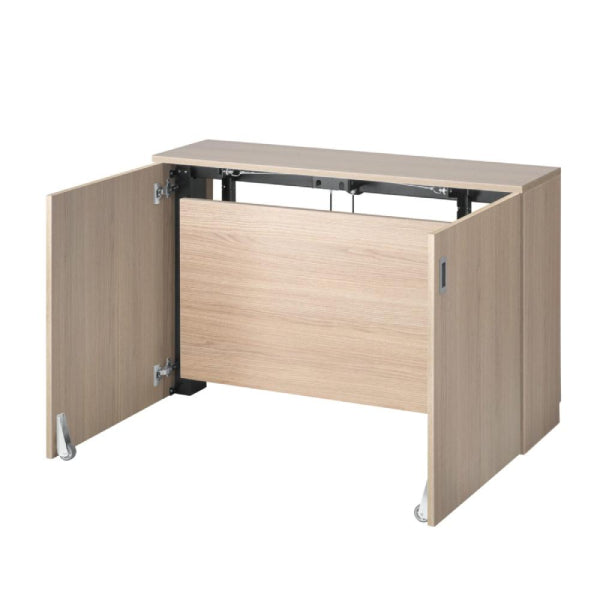 HomeFit Desk in a Cupboard