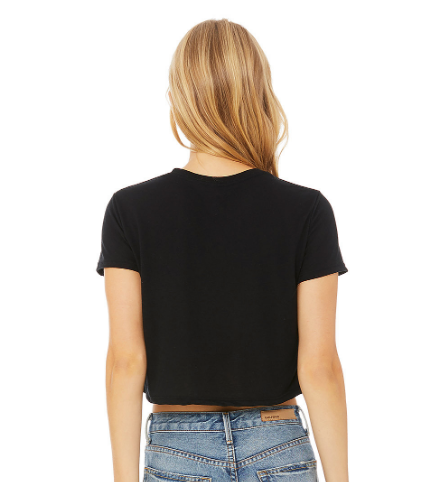 Knock Out Flowy Cropped Top