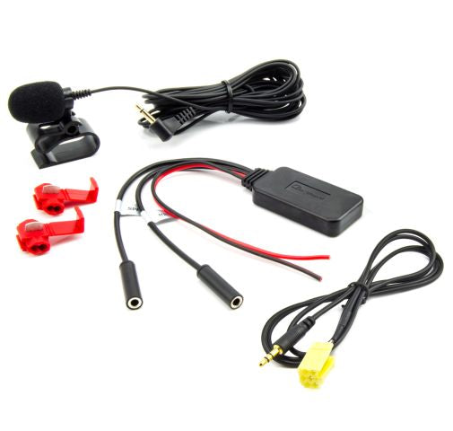Bluetooth Aux Adapter für FIAT ALFA CITROEN PEUGEOT OPEL MP3 Telefonieren Musik - wm-outlet-store