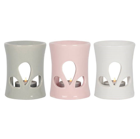 Ceramic Wax Melt Warmer | Oil Burner |  Various Colours