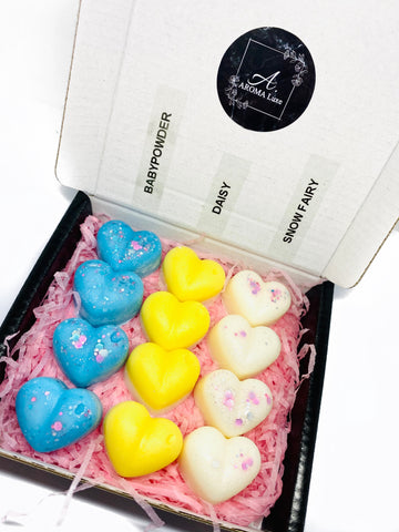 Small Selection Box - Mini Heart Wax Melts 'Pick n Mix'
