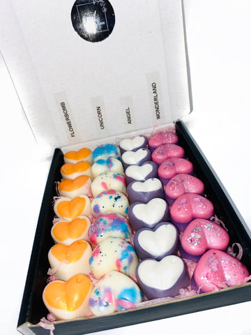 Medium Selection Box - Mini Heart Wax Melts 'Pick n Mix'