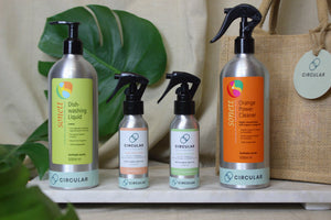 Natural Cleaning Bundle - verschillende flesgroottes