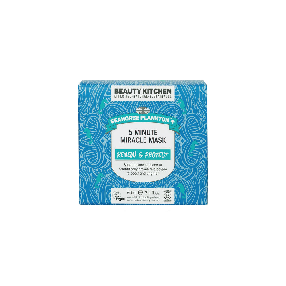 Seahorse Plankton+ 5 Minute Miracle Mask - 60ml