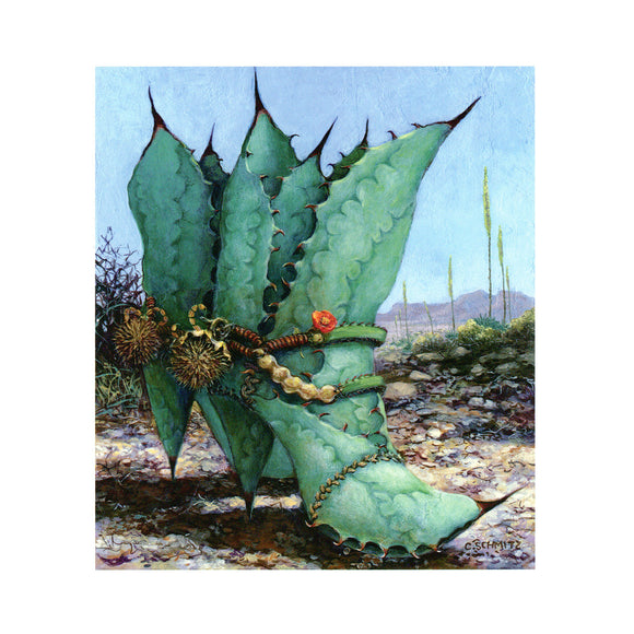 Agave Country by Carolyn Schmitz
