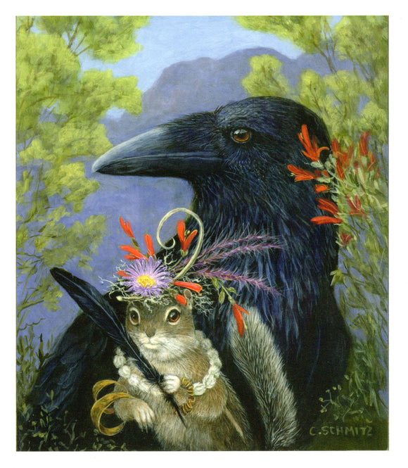 The Raven's Friend by Carolyn Schmitz