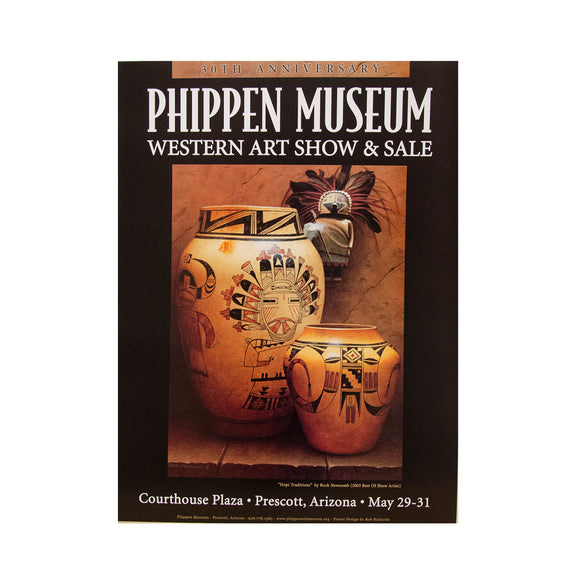 Hopi Traditions  by Rock Newcomb  // 2004 30th Annual Phippen Western Art Show